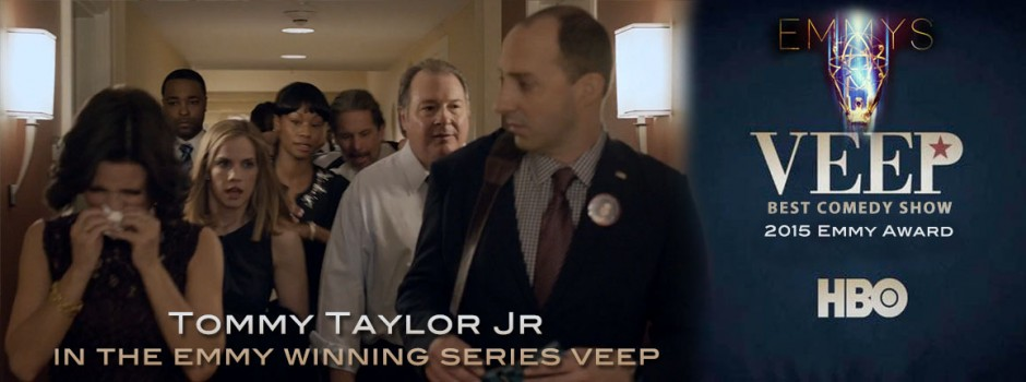 Tommy Taylor Jr as seen in HBO's VEEP