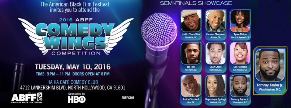 Tommy Taylor Jr - ABFF Comedy Wings Semifinals HBO
