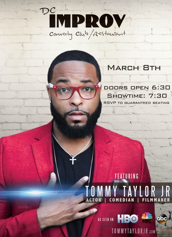 Tommy Taylor Jr at DC Improv