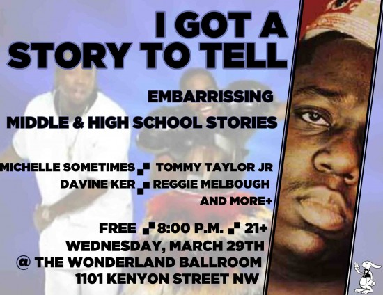 Storytelling Show featuring Tommy Taylor Jr.