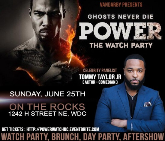 Power Watch Party w/Tommy Taylor Jr
