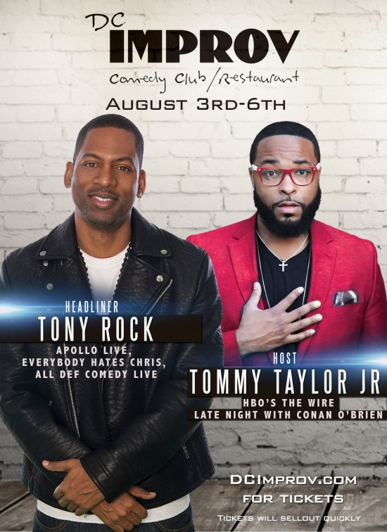 DC Improv Tony Rock w/Tommy Taylor Jr