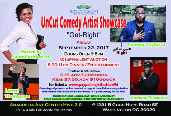 UnCut Comedy Artist Showcase feat. Tommy Taylor Jr.