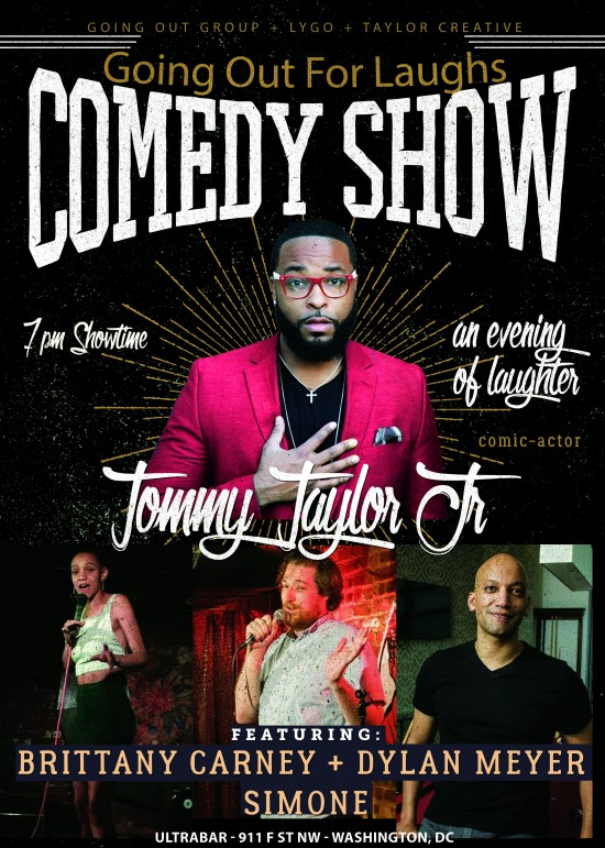 GOING OUT for LAUGHS feat. Tommy Taylor Jr.