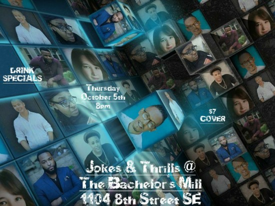Jokes and Thrills w/Tommy Taylor Jr.