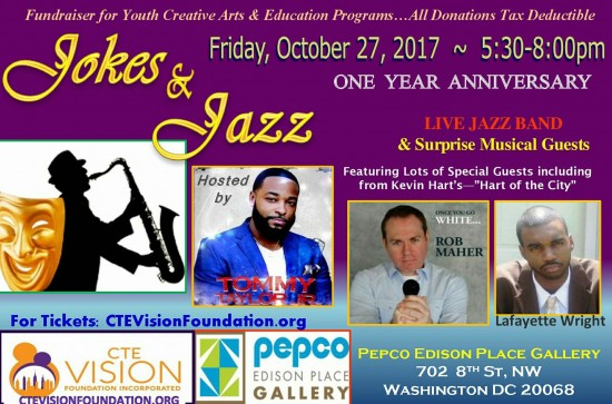 Jokes and Jazz - Hosted By: Tommy Taylor Jr.