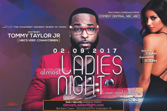 almost Ladies Night v.5 | Love and Laughs