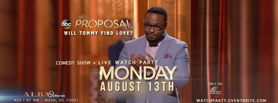 ABC's The Proposal with Tommy Taylor Jr.