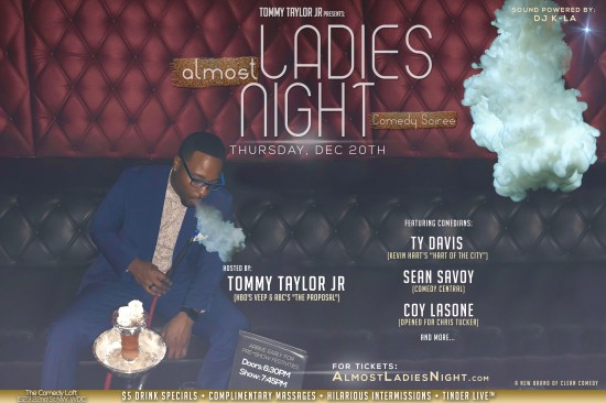 almost Ladies Night w/Tommy Taylor Jr