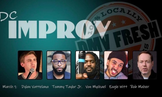 Tommy Taylor Jr at the DC Improv Showcase